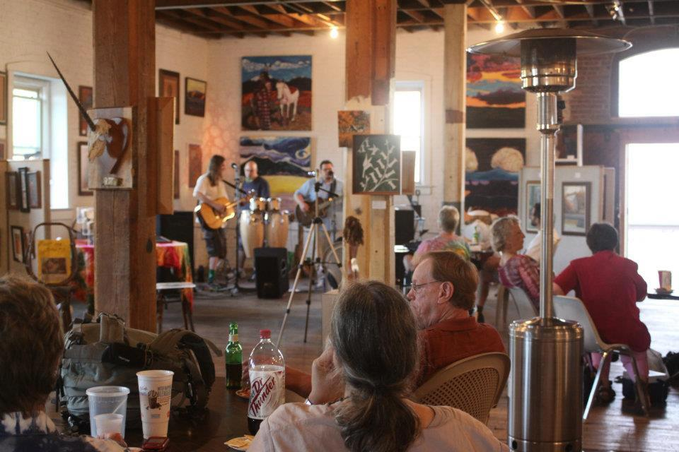 Music at the Warehouse Art Gallery in Luray