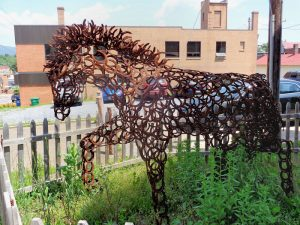 Brave Horse – AS – In Luray near Gallery – $6,000