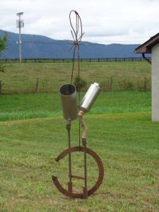 Hot Rod – Sculpture Garden – Artist – Jim Mayes – $1600