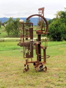 Steam Punk -Sculpture Garden – Artist –  Michael Hough – $4200