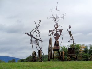 Three Graces – Sculpture Garden – Artist – Michael Hough – $7500