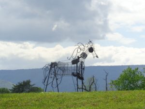 """The Horse"", 2016  -Sculpture Garden – Artist – Chris Odell-Ferguson – Price $500"