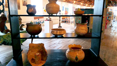 Tom Evans Turned Wood Bowls at Warehouse Art Gallery